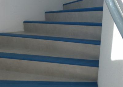 Escalier commun centre de formation ETG FC